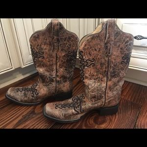 Corral Boots Size 10M